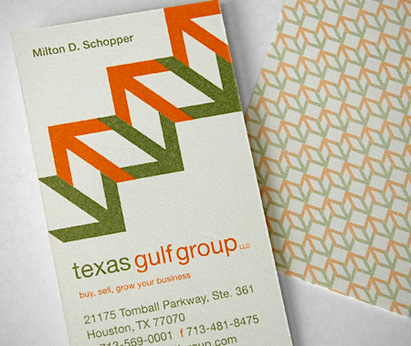 Texas Gulf Group Business Card