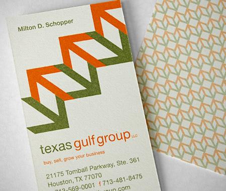 Texas Gulf Group Business Card